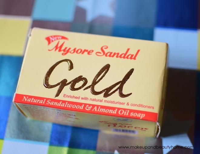 mysore sandal gold soap review