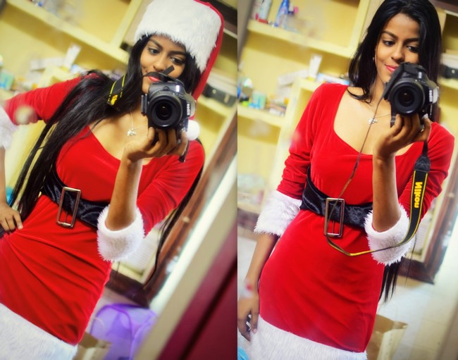santa claus christmas ootd