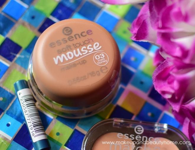 essence soft touch mousse makeup honey