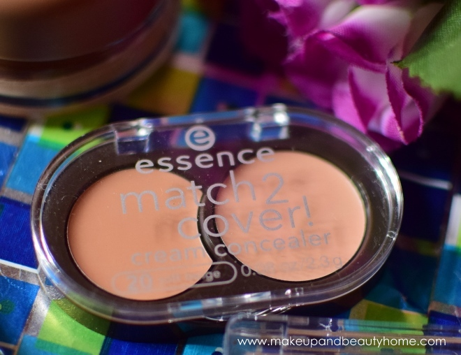 essence match 2 cover cream concealer soft beige