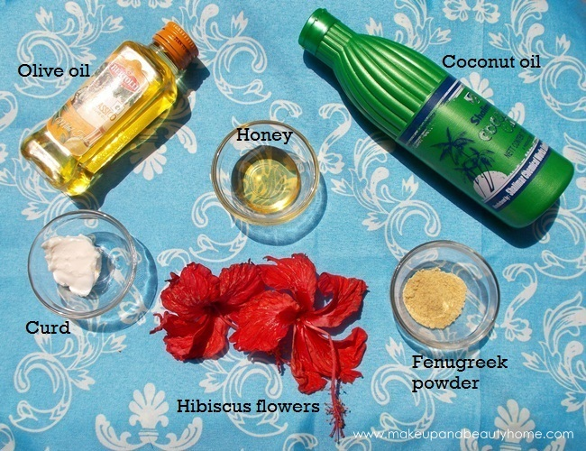 hibiscus hair pack for dry hair and dandruff
