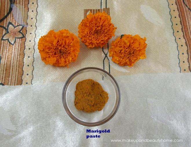 marigold paste