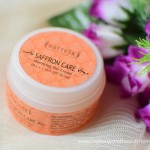 sattvik organics saffron mattifying day cream review