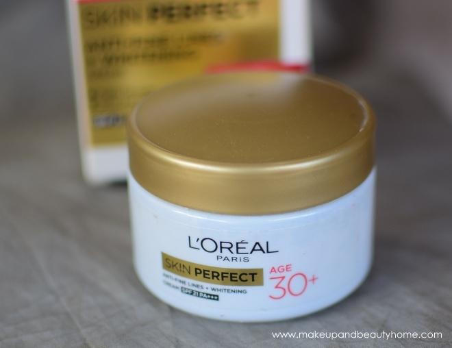 loreal paris 30+ whitening moisturizer