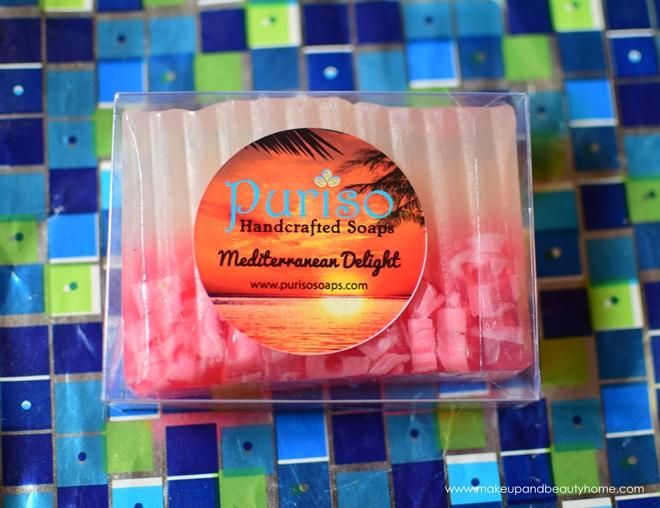 puriso handmade soap mediterranean delight