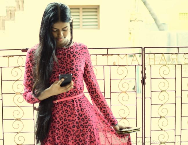 sheinside pink maxi dress