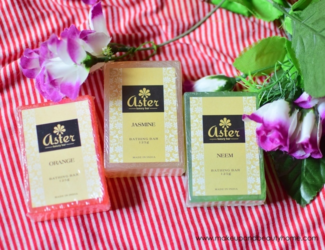 aster handmade luxury soaps neem orange jasmine review