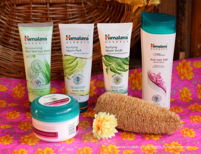 himalaya herbals summer essential products