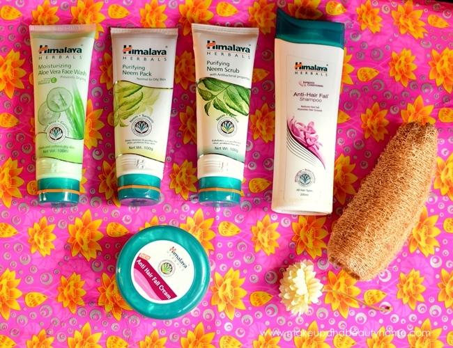 himalaya herbals summer skin and hair care