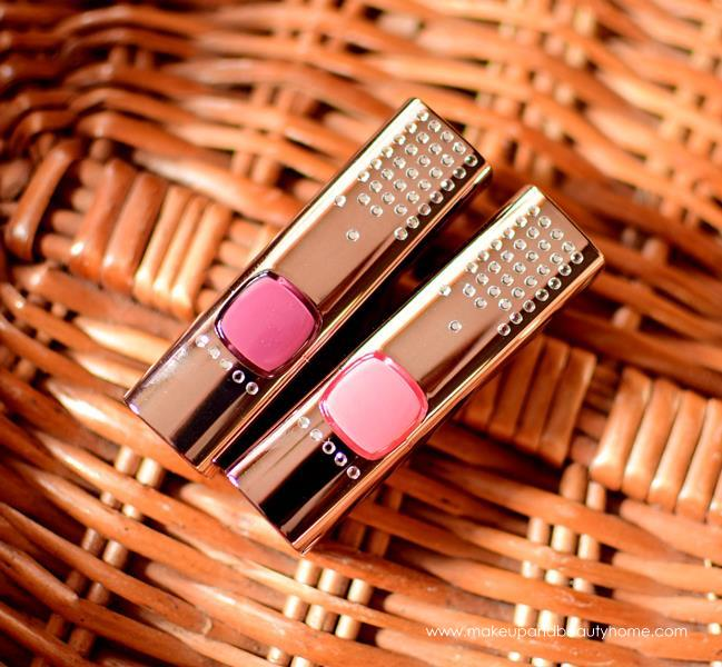 loreal paris crystals from swaravoski lipsticks