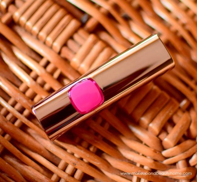 loreal paris color riche lipstick glamor fuchsia