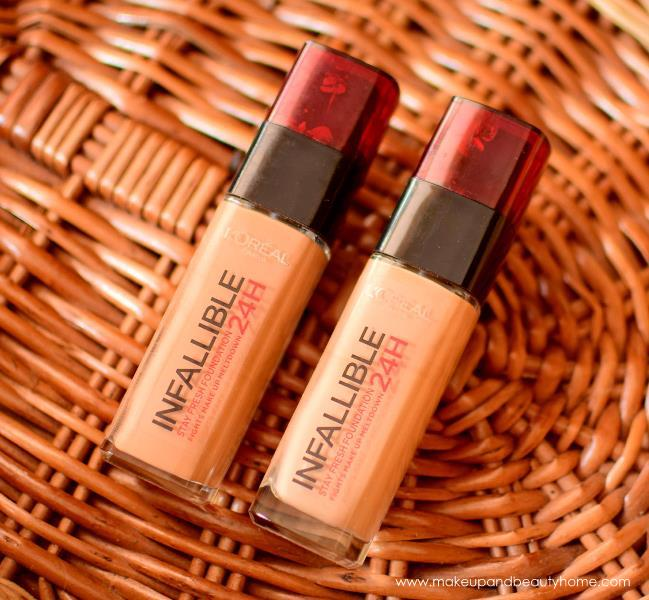 loreal paris infallible reno liquid foundation review