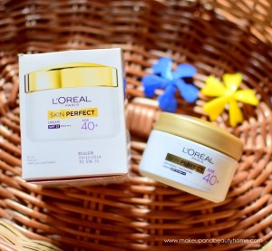 L'Oreal Paris Skin Perfect 40+ Anti Ageing Whitening Cream Review
