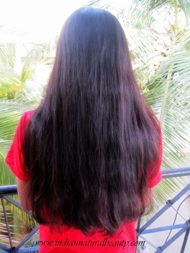 arshita hair growth
