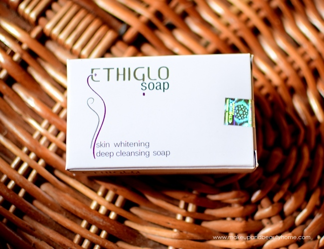 ethilgo skin whitening deep cleansing soap
