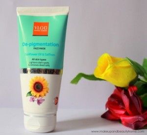 VLCC De-Pigmentation Face Pack Review