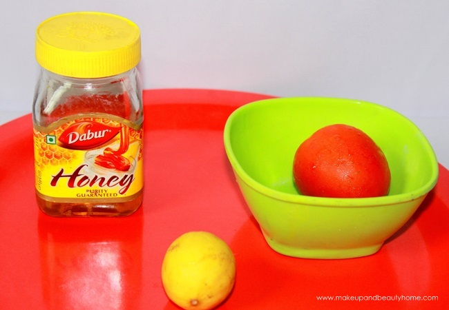 Tomato Honey Lime Face Pack to Remove Tan
