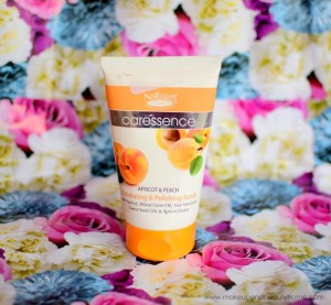 Nature's Essence Caressence Peach and Apricot Exfoliating and Polishing Scrub Review