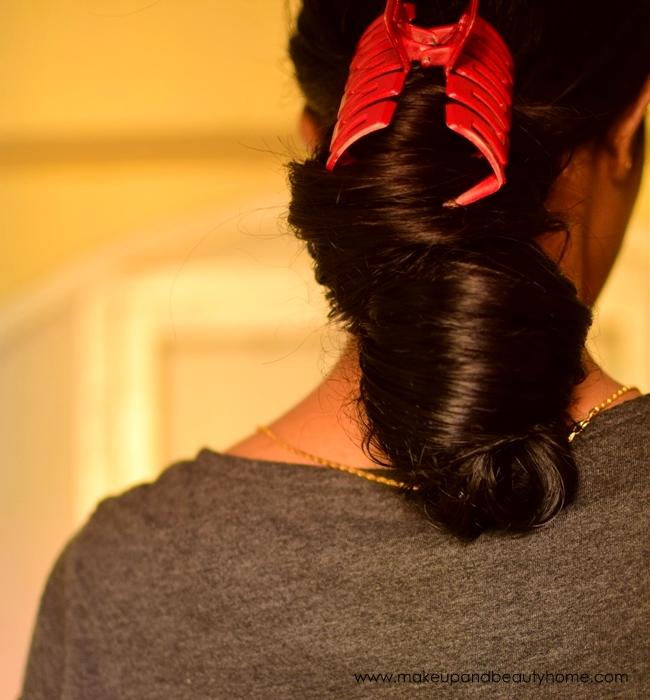my oiled hair
