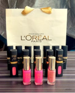 loreal paris lip colors