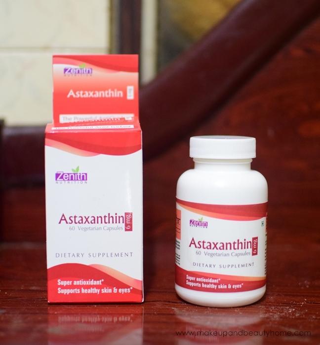 zenith nutrition astaxanthin