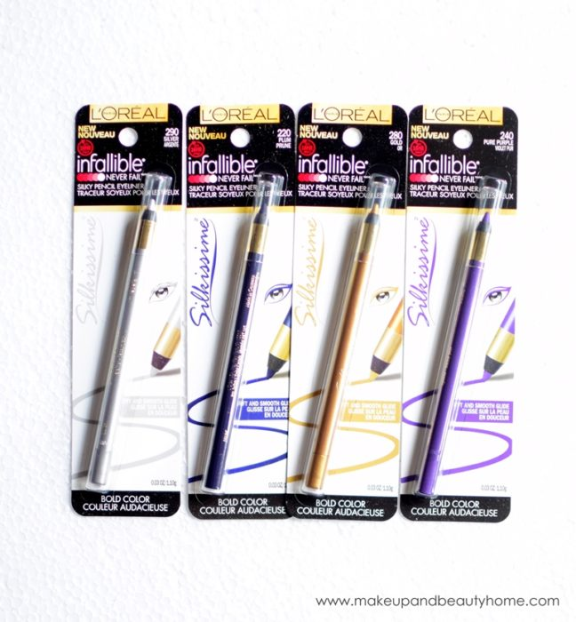 loreal paris infallible silkissime eyeliners