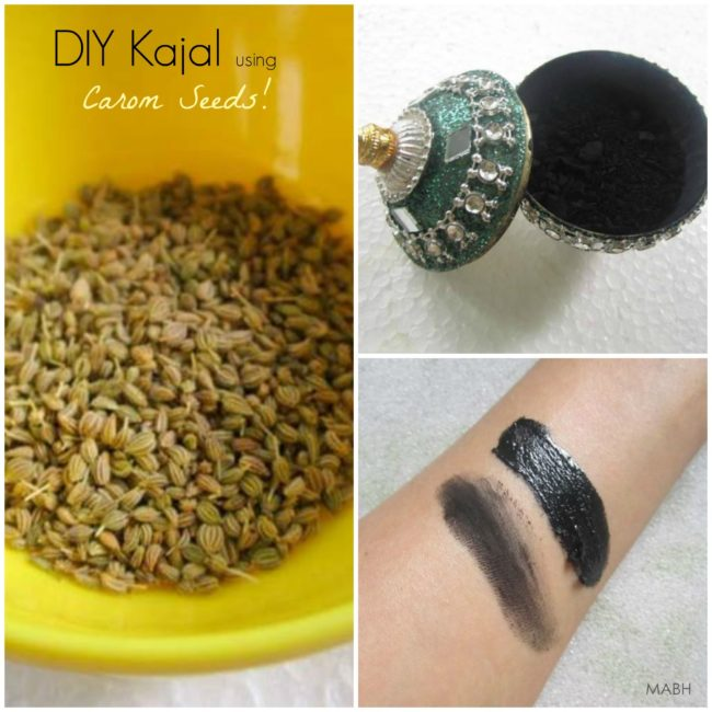 homemade black kajal
