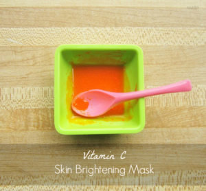 Skin Brightening Mask Using Vitamin C Tablets : Recipe, Step by Step Instructions & Photos