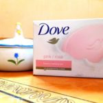 dove pink rosa beauty bathing bar