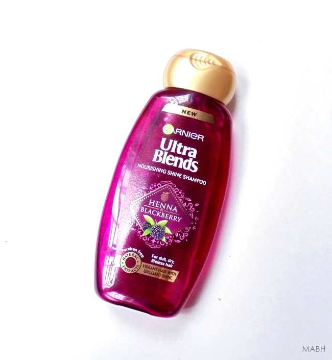 garnier ultra blends henna blackberry shampoo