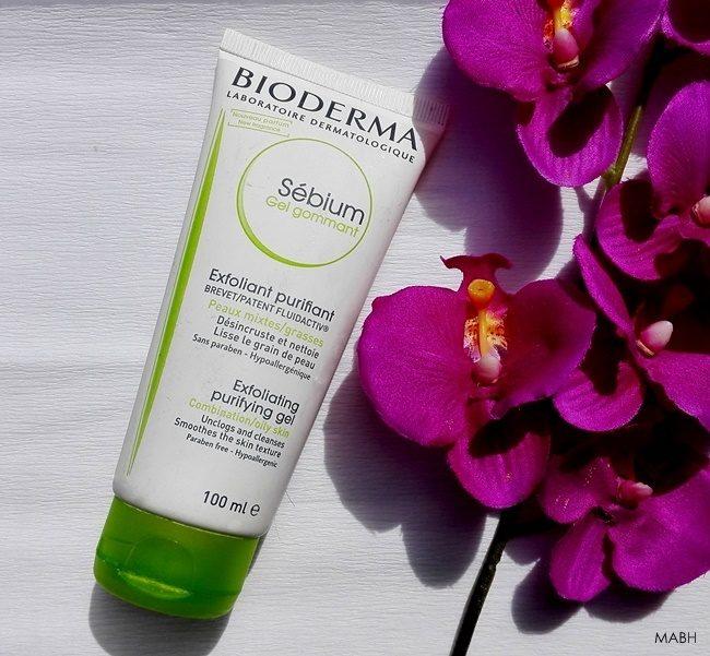 bioderma sebium exfoliating purifying gel review
