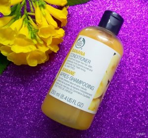 The Body Shop Banana Conditioner Review