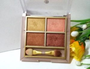 Lakme 9 to 5 Eye Color Quartet Desert Rose Review