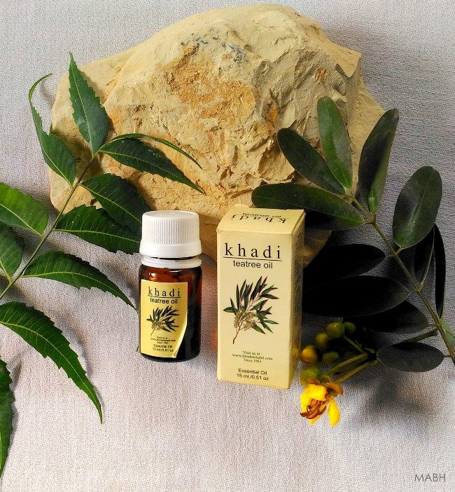 khadi tea tree essential oil