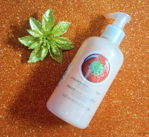 The Body Shop Strawberry Puree Body Lotion Review