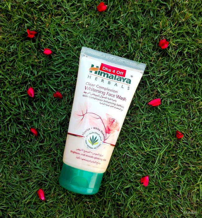 himalaya herbals clear complexion whitening face wash