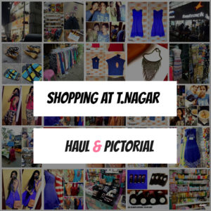 Shopping in T.Nagar, Chennai : My Experience, Haul, Photos & Shopping Guide!
