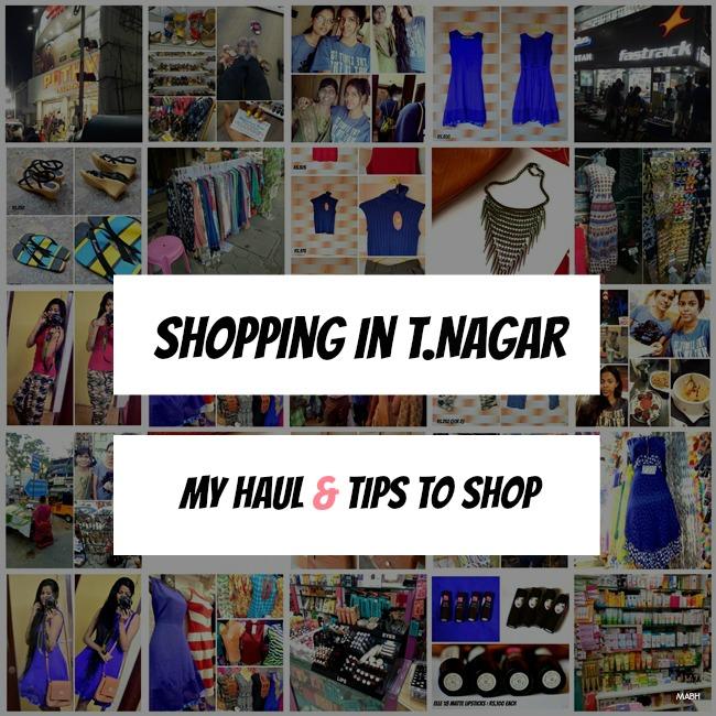 tnagar haul and shopping tips