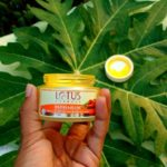 lotus herbals papayablem creme